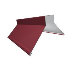 Конек фигурный, цвет красный, 130 x 130 x 2000 мм