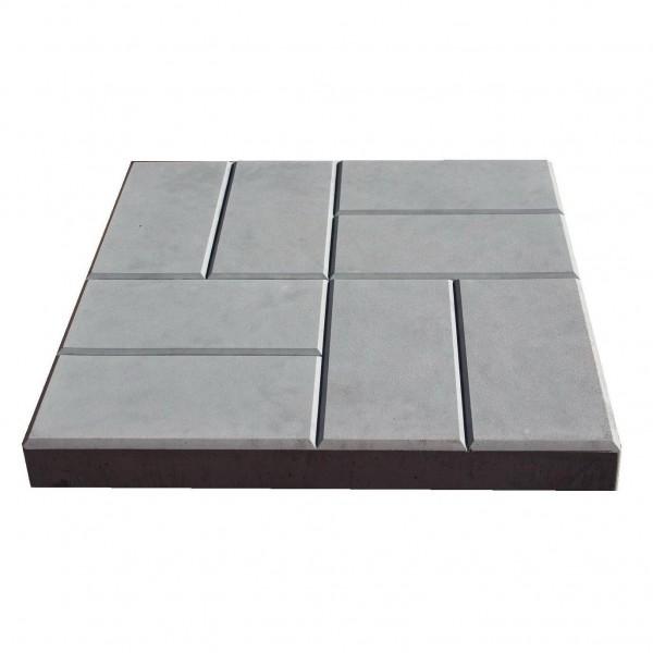 плитка тротуарная 8 кирпичей цвет серый, 5 х 40 х 40 cм ящик тек а тек le jardin 108 40 х 15 5 х 19 5 см бордовый