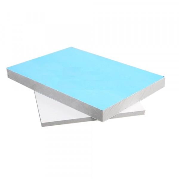 сэндвич-панель 1500 х 400 х 9.2 мм белая