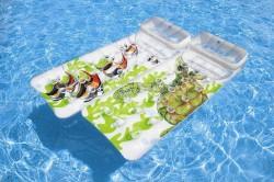 Матрас надувной для плавания 18 карманов Lounges 188*71см 58878