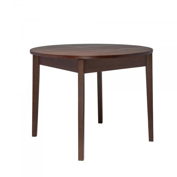 стол раздвижной leset говард 1р орех шоколадный 5815-3045