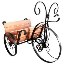 Велосипед 55*41*47см дерево, металл, ковка 59-341