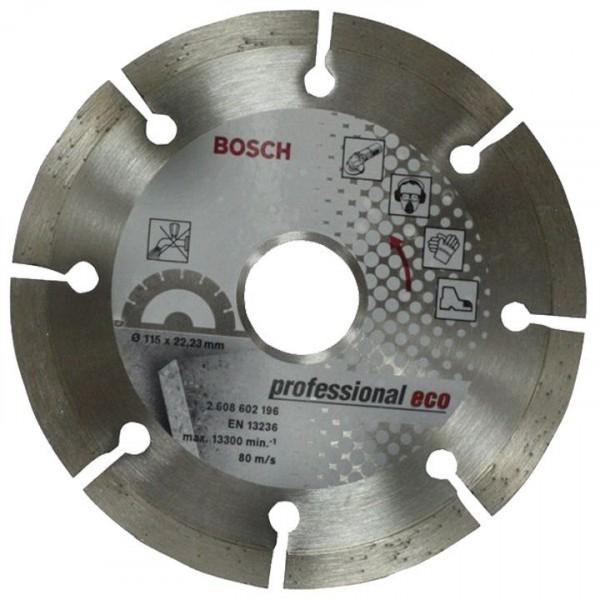 Фото - круг алмазный d115 бетон bpe bosch 2608602196 круг алмазный зубр 36652 110