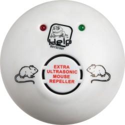 Отпугиватель мышей и крыс  ультразвуковой HELP 220 В 10x10x45см