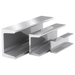 Швеллер алюминиевый 20*20*20*1,5 2,0м
