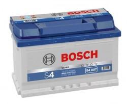 Аккумулятор BOSCH  72 о.п. (S4 007)  572 409 068 низк. 0 092 S40 070