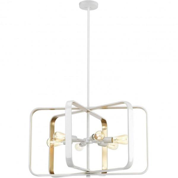 светильник подвесной toplight lois tl1177h-06wh е27 6x40вт ip 20 люстра подвесная toplight lois tl1177h 06wh