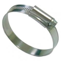 Хомут стальной червячный 110-130мм оцинкованный, ЭРА