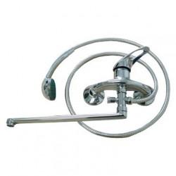 Смеситель для ванны Juguni JGN0120 L-излив 350мм 40 картридж