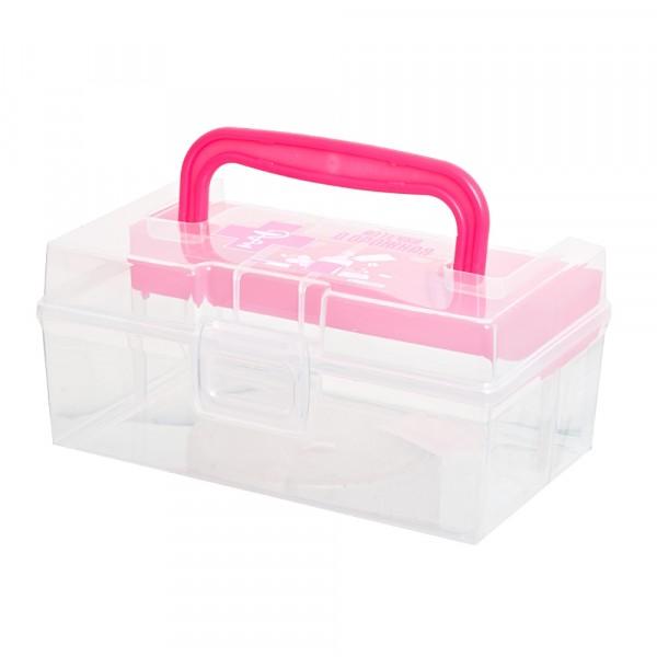 Фото - контейнер аптечка дорожная 0.8л polimerbyt с вкладышем 170х108х78см c30903 мыльница полимербыт дорожная
