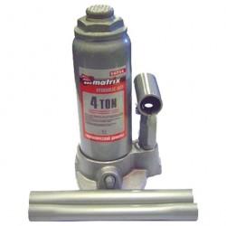 Домкрат гидравлический бутылочный  4т в кейсе h194-372мм Matrix 50754