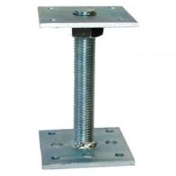 Лифт регулируемый 100*100*6,0мм со шпилькой М24 h=150мм 811353