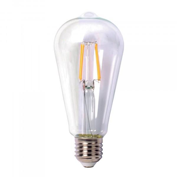 лампа светодиодная thomson led filament st64 th-b2108 е27 цилиндрическая 9вт 4500к лампа светодиодная thomson led filament deco globe 2 th b2410 е27 трубка 12вт 2700к