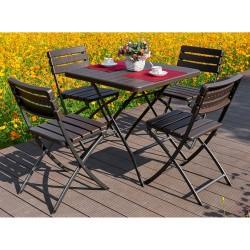 Набор складной мебели Викинг-1 стол+4стула
