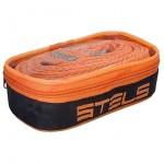 Трос буксировочный 3,5т капрон /2 крюка/ 5м, сумка на молнии Stels 54379