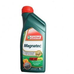 Масло моторное 5W40 1л синтетическое A3/B4 Castrol Magnatec