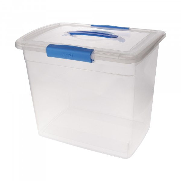 ящик дляхранения 20л laconic branq с защелками и ручкой bq2526