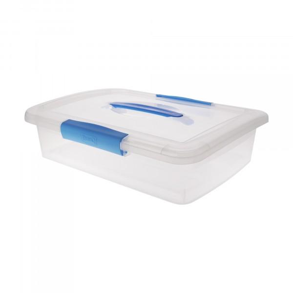 ящик дляхранения 5л laconic branq с защелками и ручкой bq2521
