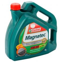 Масло моторное 5W40 4л синтетическое A3/B4 Castrol Magnatec