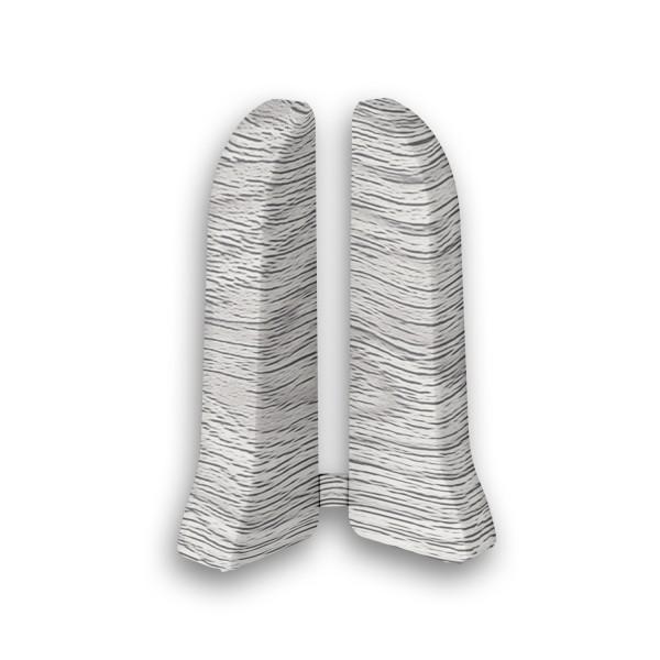 Фото - заглушки пвх 67 мм дуб серый идеал элит 2 шт заглушки пвх 67 мм дуб мокко идеал элит 2 шт