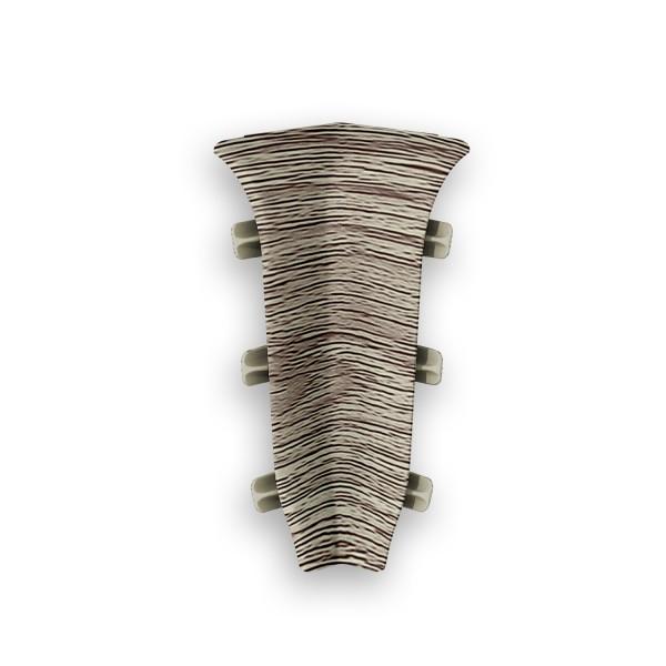 Фото - угол внутренний пвх 67 мм дуб мокко идеал элит 2 шт заглушки пвх 67 мм дуб мокко идеал элит 2 шт