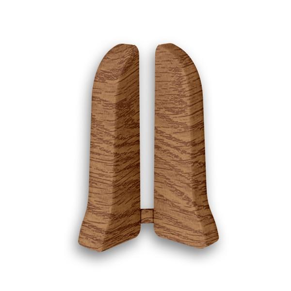 Фото - заглушки пвх 67 мм дуб коньячный идеал элит 2 шт заглушки пвх 67 мм дуб мокко идеал элит 2 шт