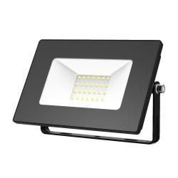 Прожектор светодиодный Gauss Elementary 613100330 30W 2100lm IP65 6500К черный