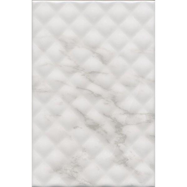 плитка настенная брера 20х30 белый структура 8328