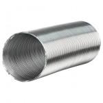 Воздуховод гибкий алюминиевый гофрир. 140мм, L до 3м ЭРА 14ВА