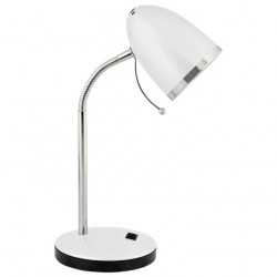 Светильник настольный Camelion KD-308  C01 белый 40Вт E27