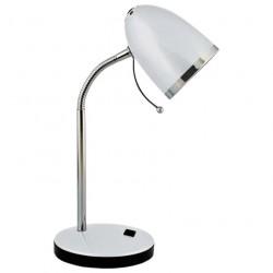 Светильник настольный Camelion KD-308  C03 серебро 40Вт E27