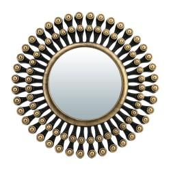 """Зеркало декоративное """"Дижон"""" QWERTY d13см бронза 74040"""