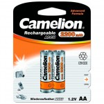 Аккумулятор Camelion АА-2200mАh Ni-Mh BL-2 (2шт)