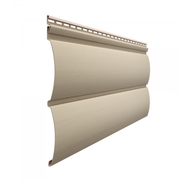 сайдинг docke premium, блок-хаус, цвет крем-брюле, 3.6 м