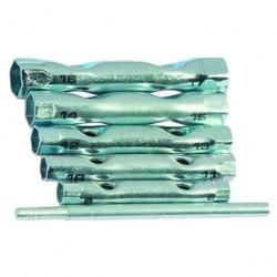 Набор ключей трубчатых 8-17мм 5шт с воротком Sparta 137405