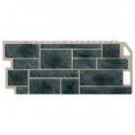 Панель фасадная FineBer 1,137*0,47 Камень серо-зеленый