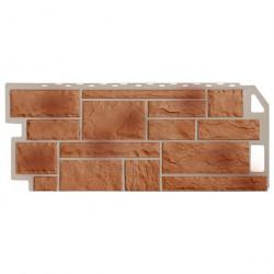 Панель фасадная FineBer 1,137*0,47 Камень терракотовый