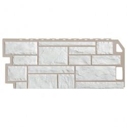 Панель фасадная FineBer 1,137*0,47 Камень Мелованный белый