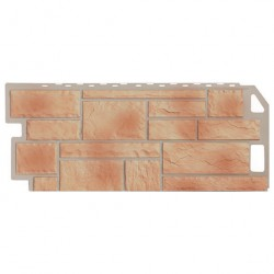 Панель фасадная FineBer 1,137*0,47 Камень бежевый
