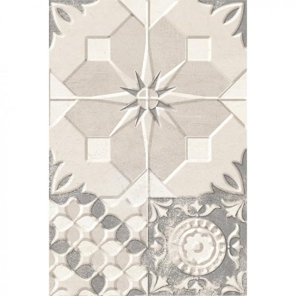 декор tendenza 20х30 бежевый patchwork №3