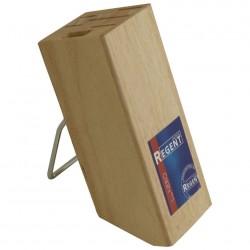 Подставка для ножей, гевея мет/дуга (FPO4-5WA) 93-WB1-5S