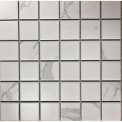 Мозаика керамическая Carrara-48 30x30 белый
