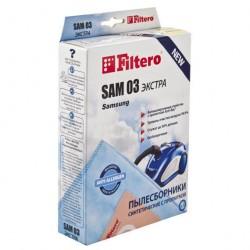 Пылесборники Filtero SAM 03, Экстра