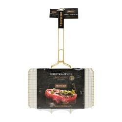 Решётка-гриль для стейков GOLD BOYSCOUT 70(+5)х45х27х2 см