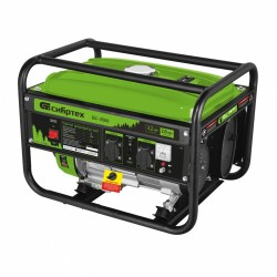 Генератор бензиновый БС-3500, 3,2 кВт, 230В, 4-х такт., 15 л, ручной стартер Сибртех
