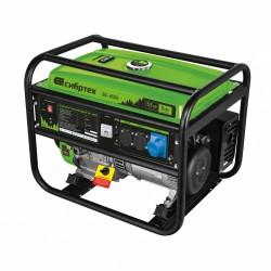 Генератор бензиновый БС-6500, 5,5 кВт, 230В, 4-х такт., 25 л, ручной стартер Сибртех