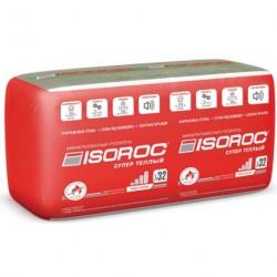 Теплоизоляция Isoroc Супер Теплый 1000х610х100мм (3,05м2, 0,31м3, 5шт/упак)