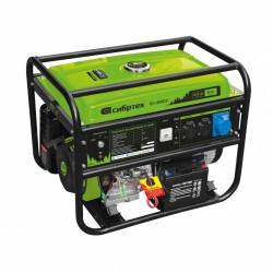 Генератор бензиновый БС-8000Э, 6,6 кВт, 230В, 4-х такт., 25 л, электростартер Сибртех