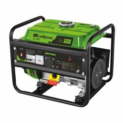 Генератор бензиновый БС-1200, 1 кВт, 230 В, 4-х такт., 5,5 л, ручной стартер Сибртех