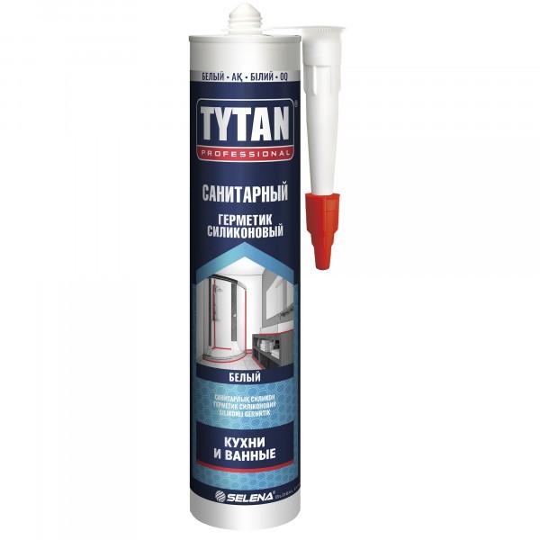 герметик tytan professional санитарный 280мл белый